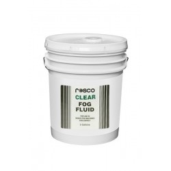 Rosco Clear Fog Fluid - 5 Gallon Pail
