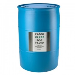 Rosco Clear Fog Fluid - 50 Gallon Drum