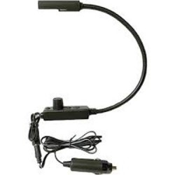 Littlite 18in. Gooseneck High Intensity Lampset with Permanent Mount and Detachable Cigarette Plug Adapter