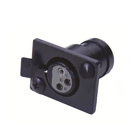 Littlite 3 Pin XLR Panel Socket