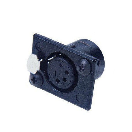 Littlite 4 Pin XLR Panel Socket