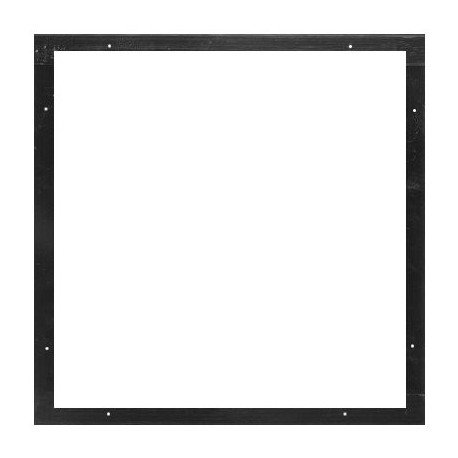Altman Black Color Frame 15 1/2in. x 15 7/8in. - 2 Piece