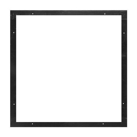 Altman Black Color Frame 15 1/2in. x 15 7/8in. - 2 Piece - Stage ...