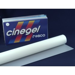 Rosco Cinegel 3027 Tough 1/2 White Diffusion (1/2 216) - T12 24in. Quicksleeve Gel