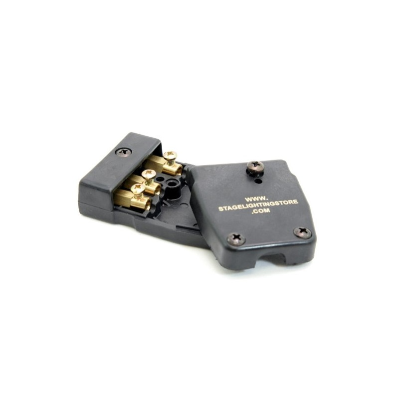 3-Pin Stage Connector - 20 Amp - Female