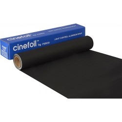 Rosco Matte Black Photofoil - 12in. X 10' Roll - Clearance