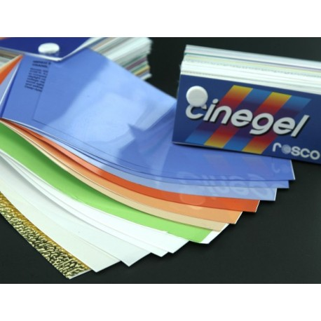Rosco 20in. x 24in. Cinegel Sampler Gel Kit