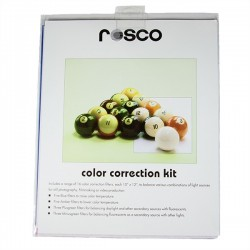 Rosco 10in. X 12in. Color Correction Kit - Clearance