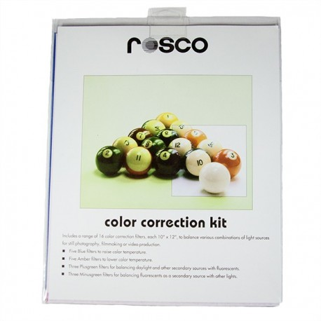 Rosco 10in. X 12in. Color Correction Gel Kit - Clearance