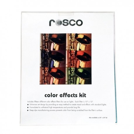 Rosco 10in. X 12in. Color Effects Gel Kit - Clearance
