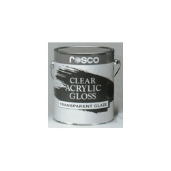 Rosco Acrylic Glazes - 5580 Clear Gloss - Gallon