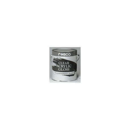 Rosco Acrylic Glazes - 5580 Clear Gloss - 5 Gallon