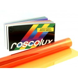 Rosco Roscolux 09 Pale Amber Gold - T5 48in. Quicksleeve Gel