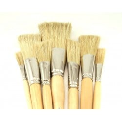 Rosco Iddings Brushes - 7 Piece Kit - 1/4in.-2in. Ferrule