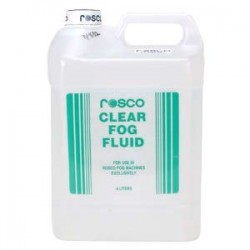 Rosco Clear Fog Fluid - 4 Liters