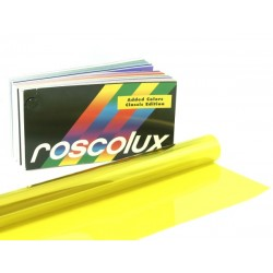 Rosco Roscolux 10 Medium Yellow - T8 24in. Quicksleeve Gel