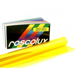 Rosco Roscolux 12 Straw - T8 24in. Quicksleeve Gel