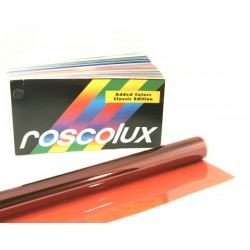 Rosco Roscolux 321 Soft Golden Amber - T12 60in. Quicksleeve