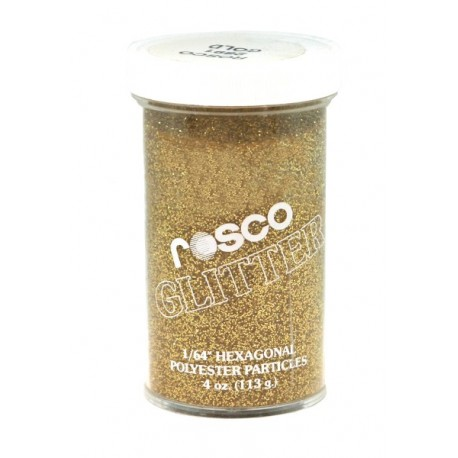 Rosco Glitter - Gold – 4 Oz