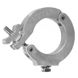 Light Source Monstro-Coupler for 2 1/2in. Pipe (3.12in. OD Tube) - Aluminum Finish - Light Source MLM3