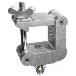 Light Source Mega-Square 2in. Half Coupler - Aluminum Finish - Light Source SQC2M