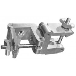 Light Source Mega-Square 2in. 90-degree Coupler - Aluminum Finish