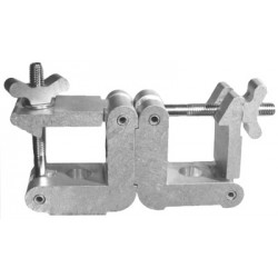 Light Source Mega-Square 2in. Parallel Coupler - Aluminum Finish - Light Source SQCP2M