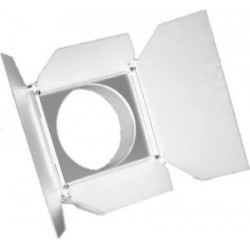 City Theatrical Barndoor for S4 PAR/PARNel Fixtures - White