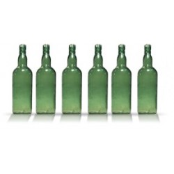 City Theatrical Whiskey Bottle 10 7/8 inch (Green)