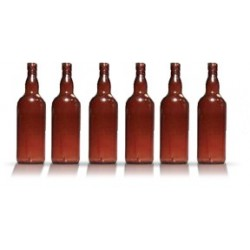 City Theatrical Whiskey Bottle 10 7/8 inch (Amber)