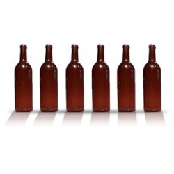 City Theatrical Wine Bottle 11 1/4 inches (Amber)