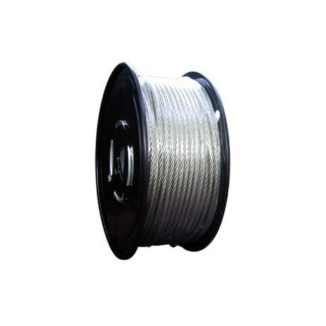5 16in Galvanized Aircraft Cable 7 X 19 500ft Reel