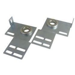 End Bearing Flanged Light Duty - Zinc Plated