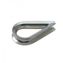 5/32in. Zinc Plated Thimble - 100/bag