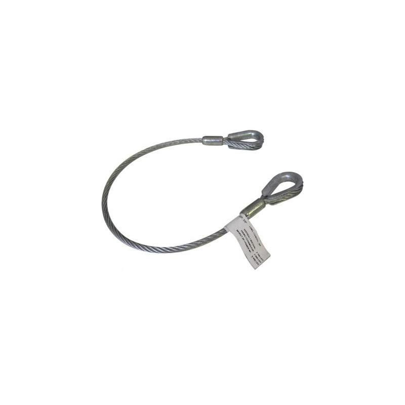 Aircraft Cable Accessories : In galvanized aircraft cable sling ft