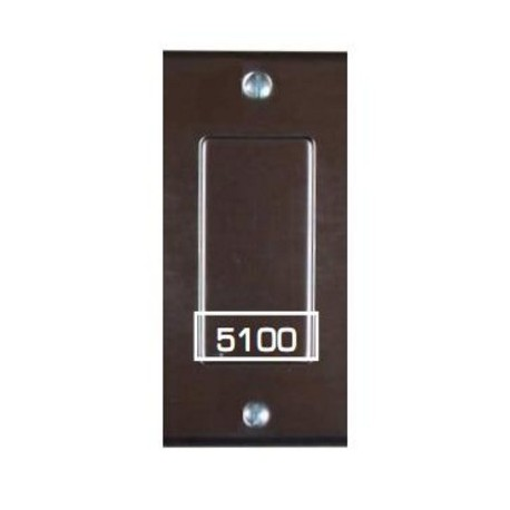 Pathway Modular Receptacle Blank Insert - Black or Stainless Steel Finishes