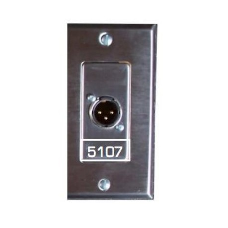 Pathway Male 3 Pin XLR Insert with Terminals