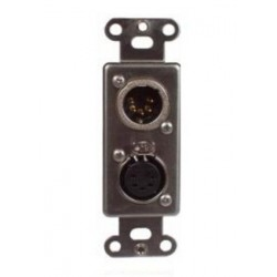 Pathway Dual 5 Pin XLR - Male/Female