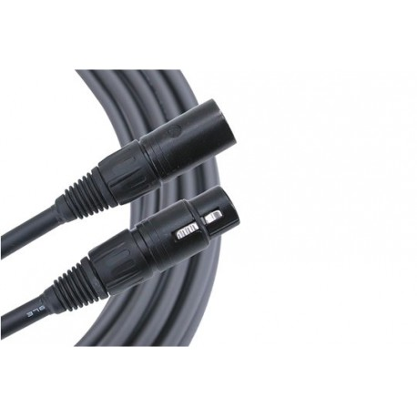 XLR Control Cable - 4 Pin - 125'