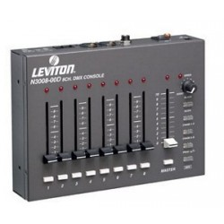 Leviton 3000 Series DMX Control Console - Eight Channel