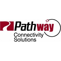 Pathway Dual 5-Pin DMX512 to IDC XLR Insert - Male/Male