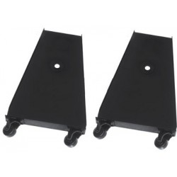 Altman Castered 7in. Floor Trunnion Pair