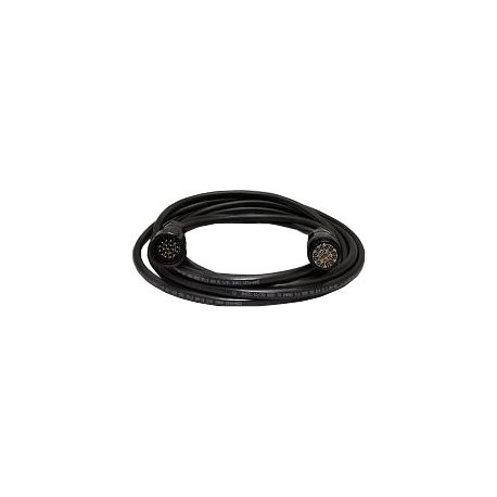 12 Gauge x 19 Conductor Tourflex Multicable with 19-Pin Veam Connector - 50 ft