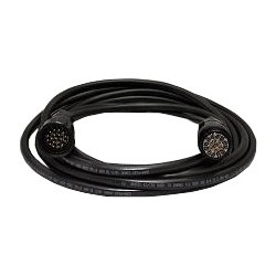 12 Gauge x 19 Conductor Tourflex Multicable with 19-Pin Veam Connector - 75 ft