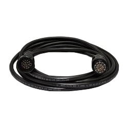 12 Gauge x 19 Conductor Tourflex Multicable with 19-Pin Veam Connector - 100 ft