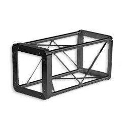 Applied NN 8in. x 8in. Ultra Lite Box Truss - 2.5ft. - Black
