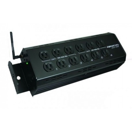 Leprecon Wireless ULD-360 High Power 15 Amp Stage Pin with 6 Channels