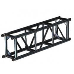 Applied NN 12in. x 18in. Spigoted Box Truss - 5 ft. - Black