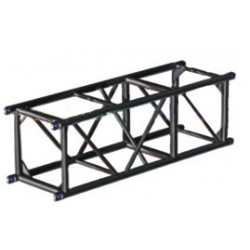 Applied NN 20.5in. x 20.5in. Spigoted Box Truss - 5 ft. - Black