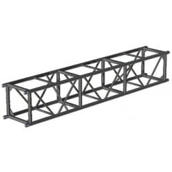 Applied NN 20.5in. x 20.5in. Spigoted Box Truss - 8 ft. - Black